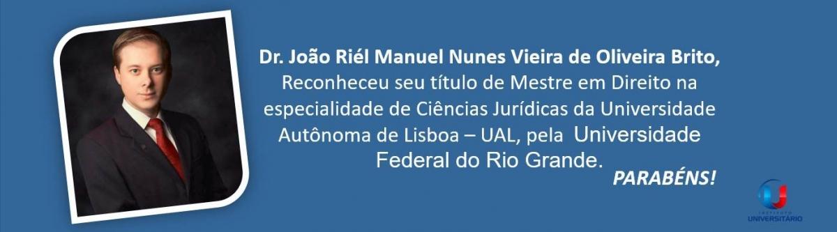 Novo reconhecimento de título da UAL pela UFRG.