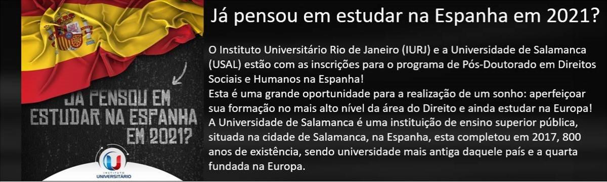 Imagem de PÓS-DOUTORADO EM DIREITO